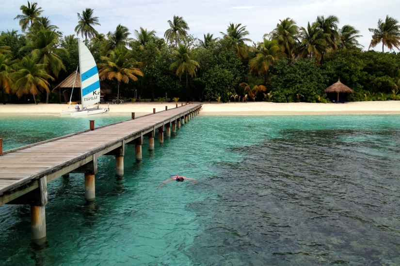 Snorkeling-at-Mirihi-Island-Resort-Maldives